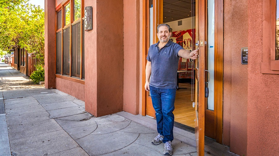 Napa Valley business owner Carl Dene is part of a coalition that challenged California's ban on outdoor dining.