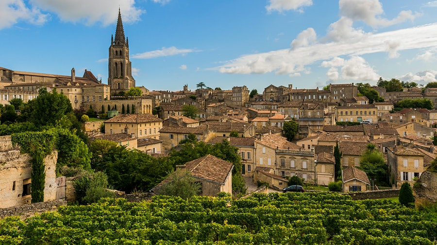 Located on Bordeaux's Right Bank, St.-Emilion's vineyards are a source for famed wines and terrific values.