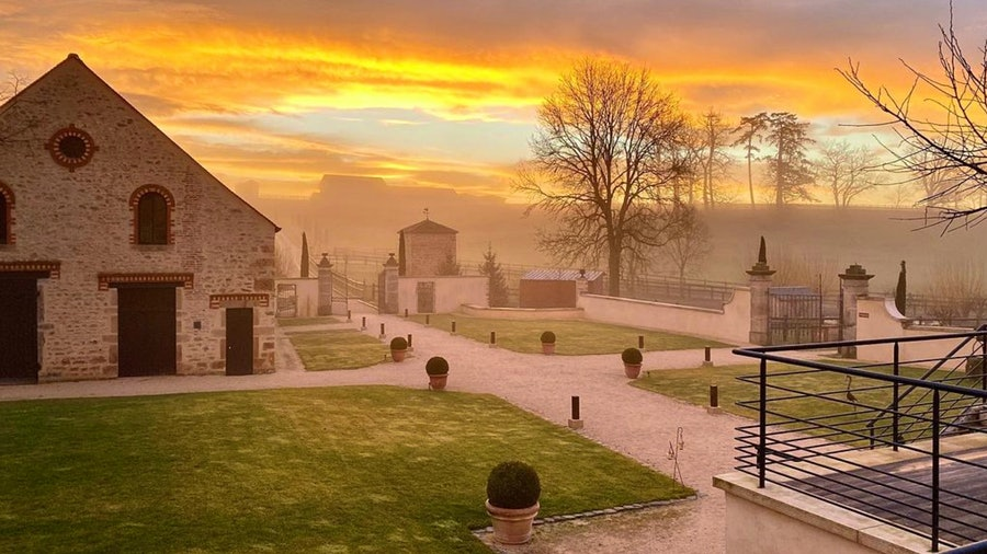Peaceful moments are more the norm at Domaine de Rymska hotel in France's Burgundy region.