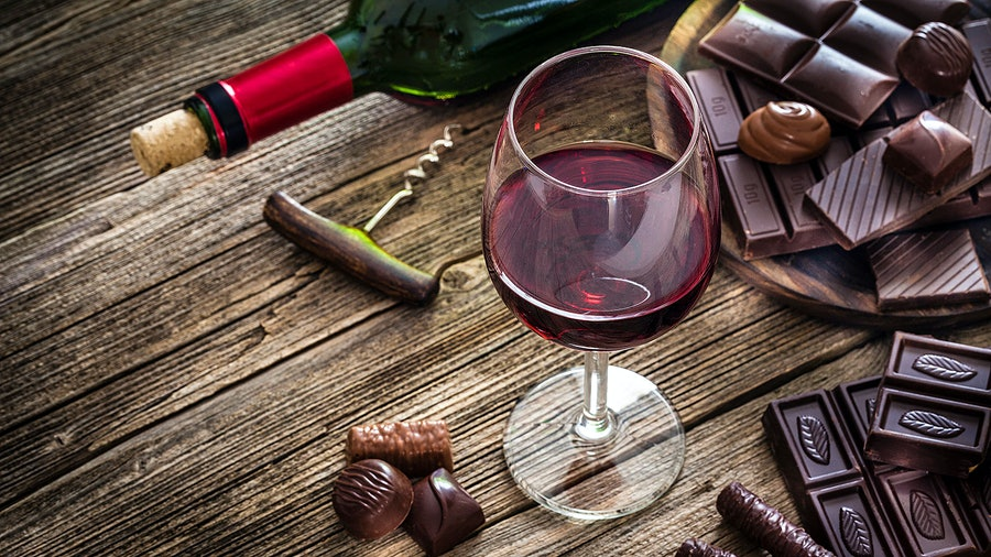 You have several sweet options when pairing wine with chocolate, including fortified reds, bright whites and sparklers.