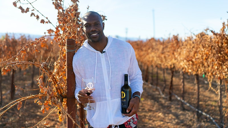 Getcha Wine and Popcorn Ready: Terrell Owens Introduces Paso Robles Cabernet