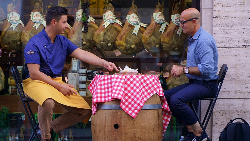 Stanley Tucci Explores the Wines and Cuisines of Italy in New CNN Docu-Series