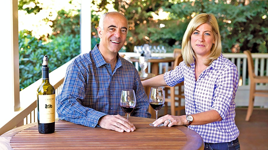 Duckhorn CEO Alex Ryan and winemaker Renée Ary are part of a team that has been at the winery for awhile, despite two ownership changes.