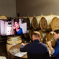 Sarah Jessica Parker calls in for a virtual blending session with New Zealand partners Rob Cameron (left) and Tim Lightbourne.A Global Collaboration: A Live Chat with Sarah Jessica Parker