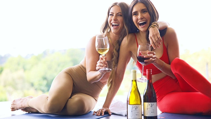 Vineyard Vamps: Nina Dobrev and Julianne Hough Launch Fresh Vine Wine