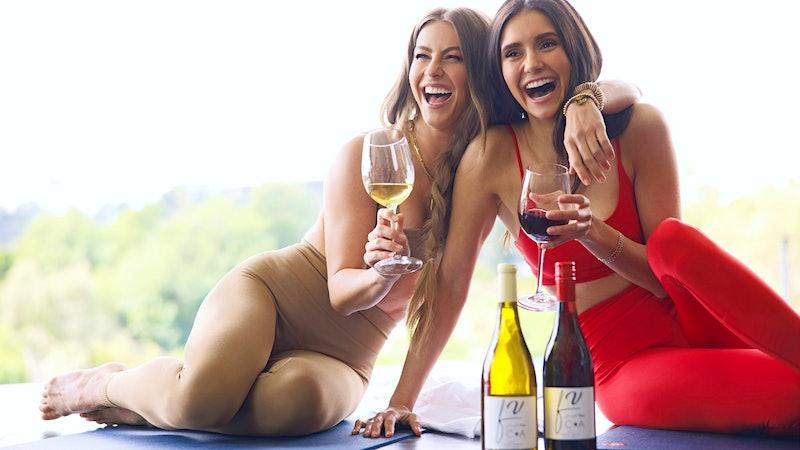 Vineyard Vamps: Nina Dobrev and Julianne Hough Launch Fresh Vine Wine