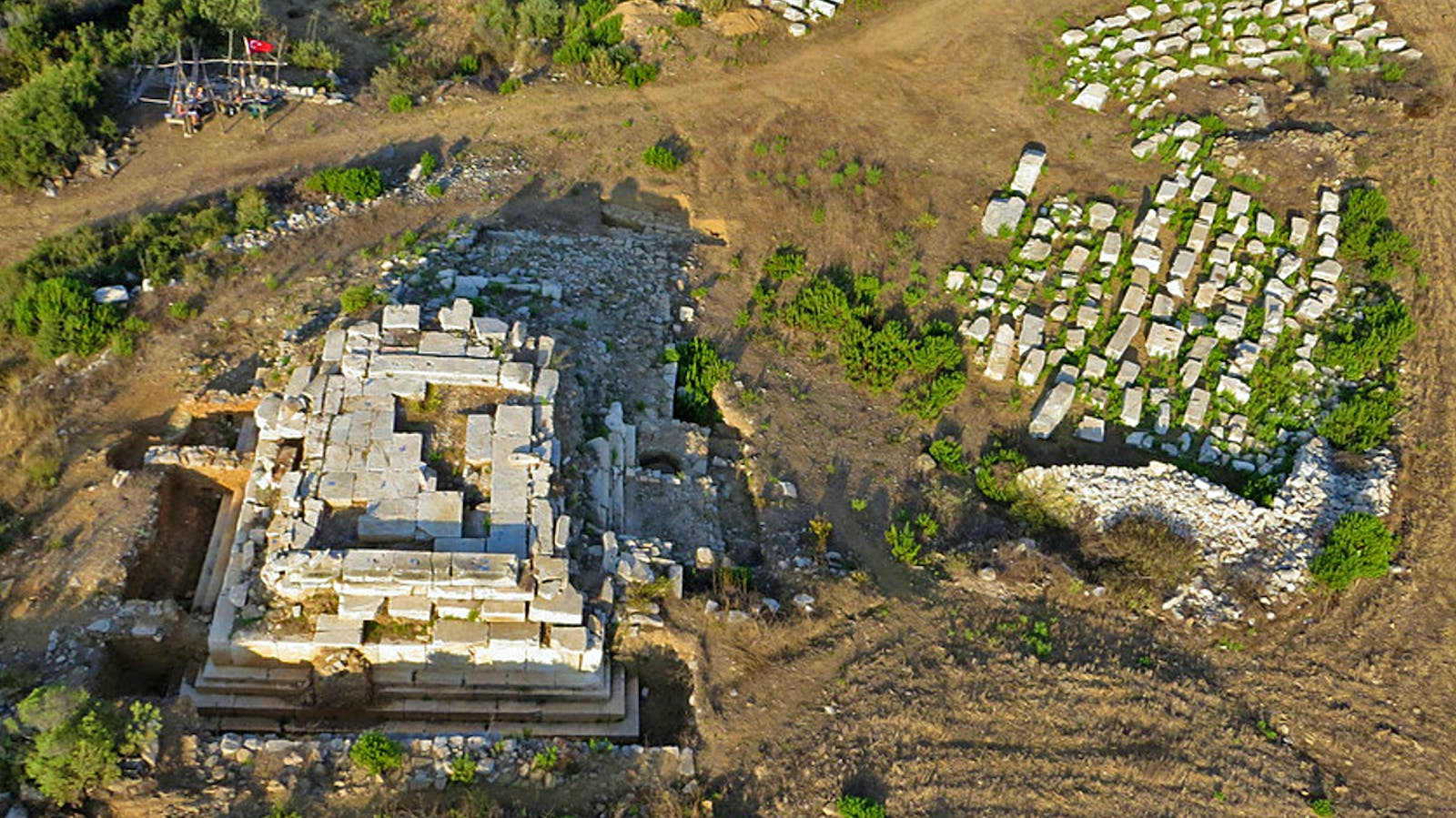 Upcycled Ancient Temple Offers Glimpse at Wine Life in the Roman Empire