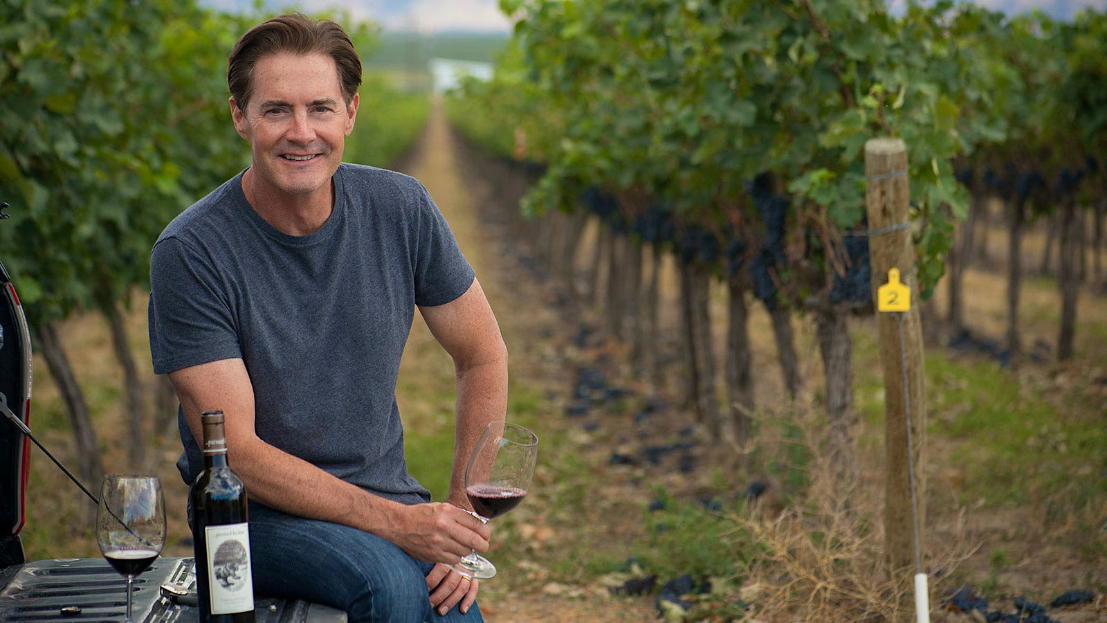 Finding Home Again: Kyle MacLachlan Chats Live About Making Wine Where He Grew Up