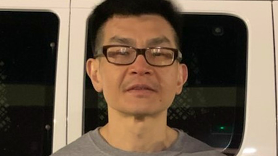 ICE Agents snapped an image of Kurniawan shortly before he boarded a plane leaving the United States from Dallas.
