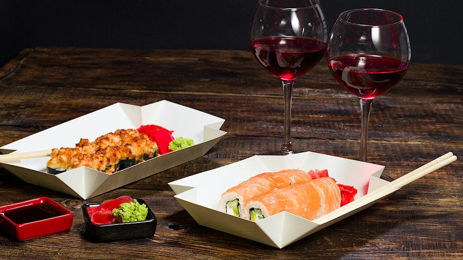 Red wine with sushi? Don't knock it 'til you try it, says Maryland-based beverage director Natalie Tapken.
