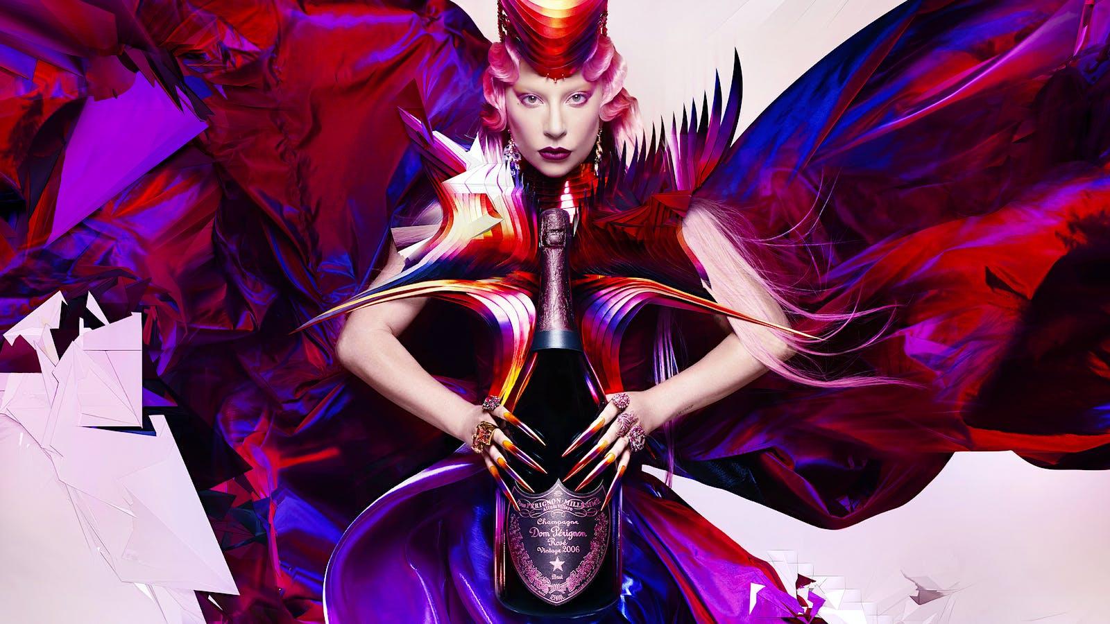 Dom Pérignon Goes Gaga