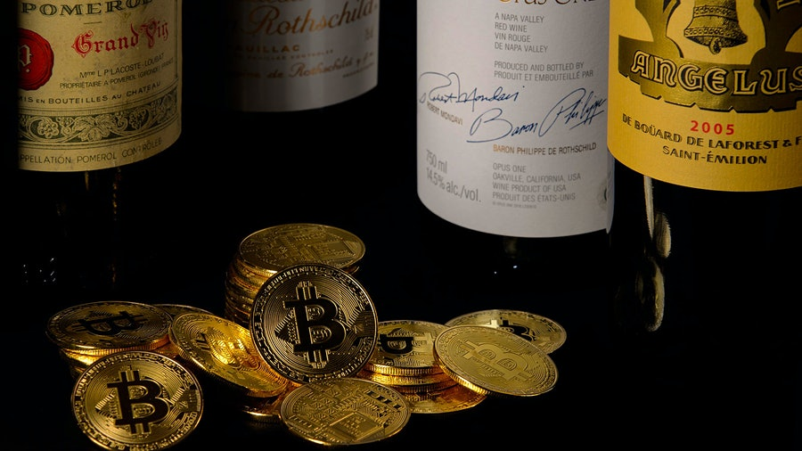 Cryptocurrencies like Bitcoin have sped up their transaction time in recent years, making it easier for wine merchants to accept them as payment.