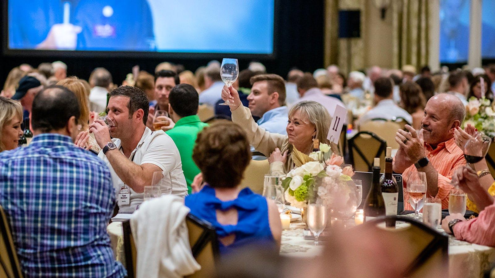 Destin Charity Wine Auction Raises $2 Million in Hybrid Live-Virtual Event