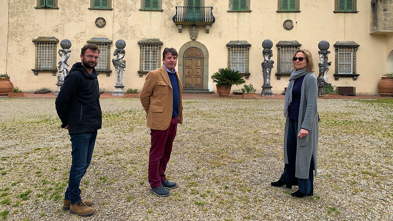A Great Old Tuscan: Carmignano's Capezzana