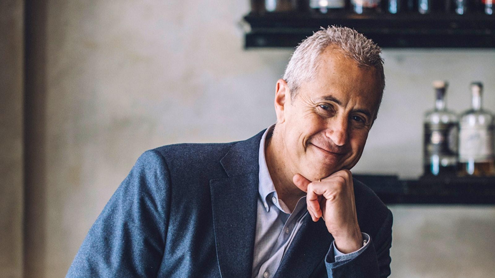 Portrait of restaurateur Danny Meyer