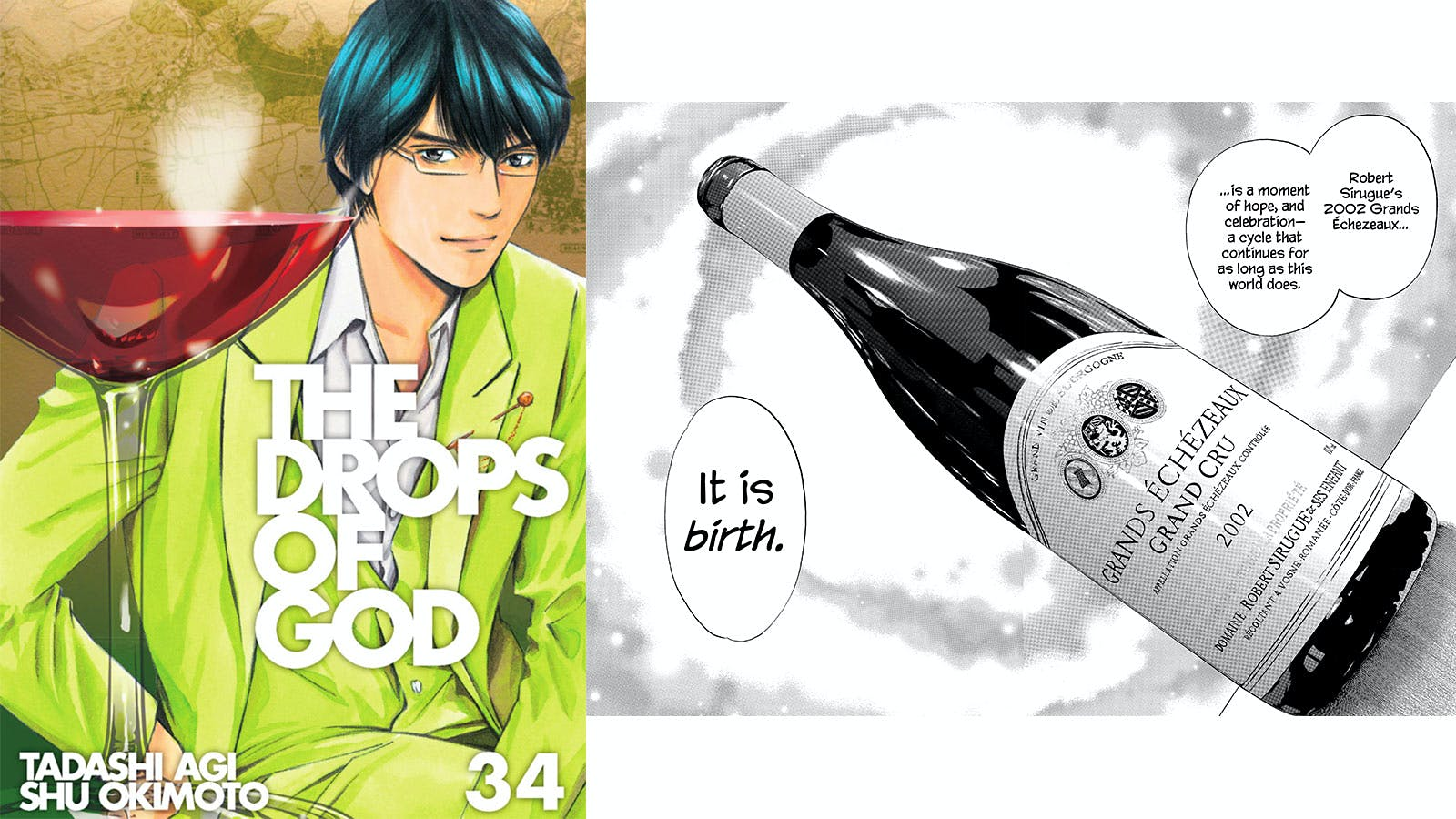 Good to the Last Drop: Final Volumes of Manga Hit 'Drops of God' Come to U.S.