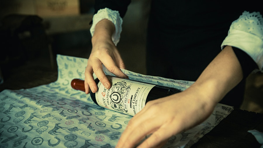 Shelby Company Ltd. St.-Emilion Grand Cru, hand-packed by the Peaky Blinders themselves …