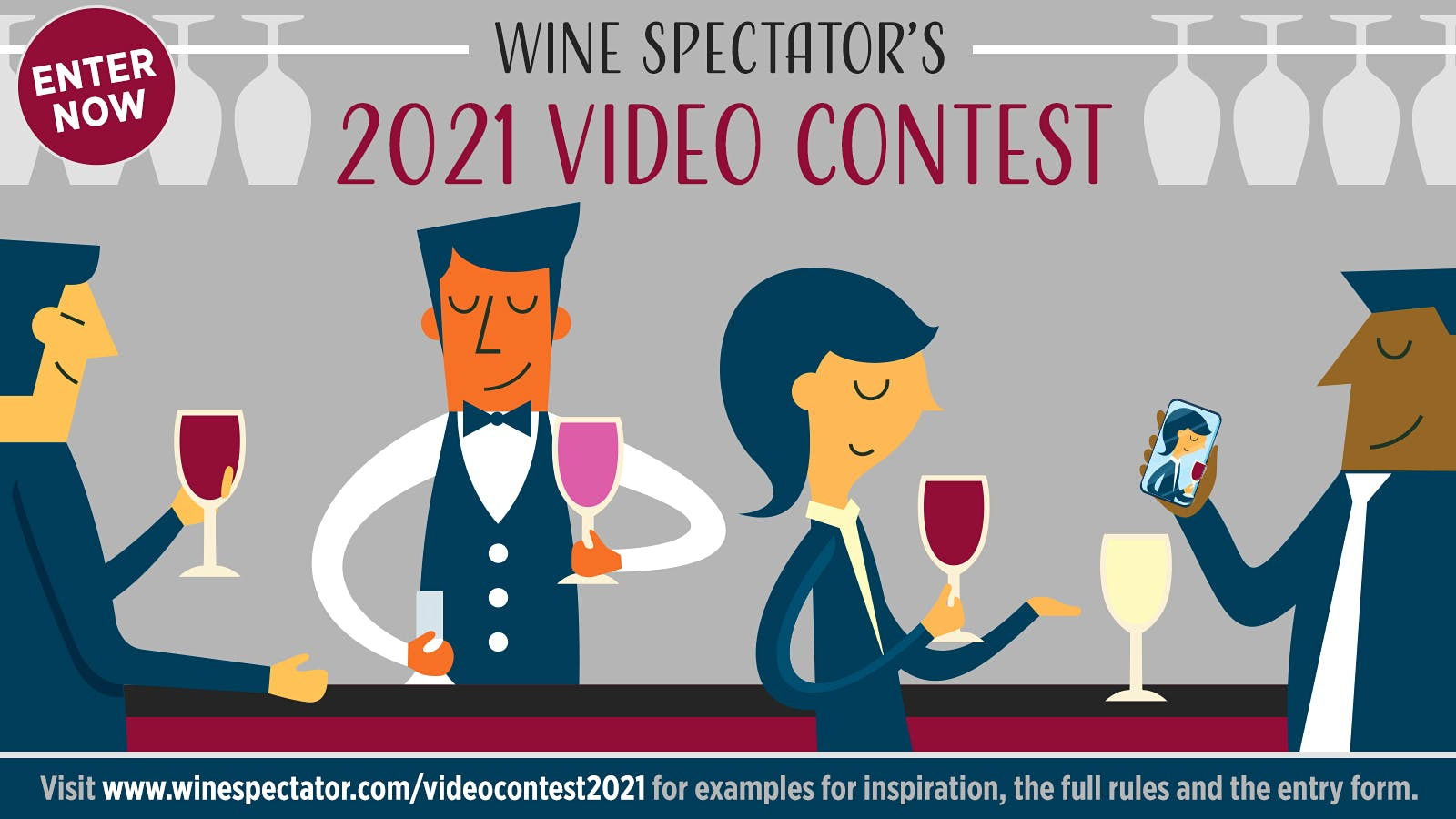Wine Spectator 2021 Video Contest: Rules, Prizes and Entry Form