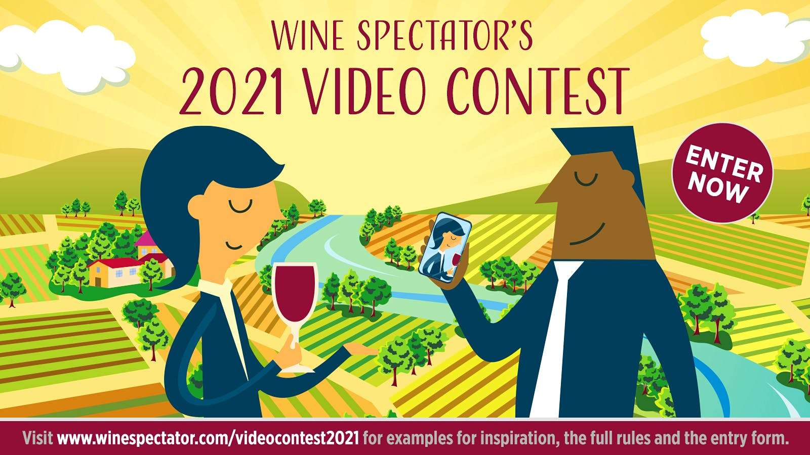 Announcing Wine Spectator's 15th Annual Video Contest