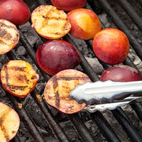 Grilling ripe peaches adds savory, smoky depth to the sweet fruit, making them wonderful accompaniments to salads, desserts, barbecue chicken and even oysters.7 Summer Favorites: Fresh Peach Recipes