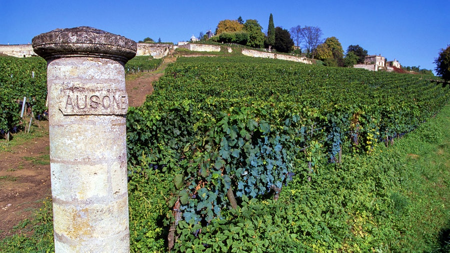 Located just outside the town of St.-Émilion, Château Ausone has been a top winery in the appellation's classification since the first rankings in 1950.