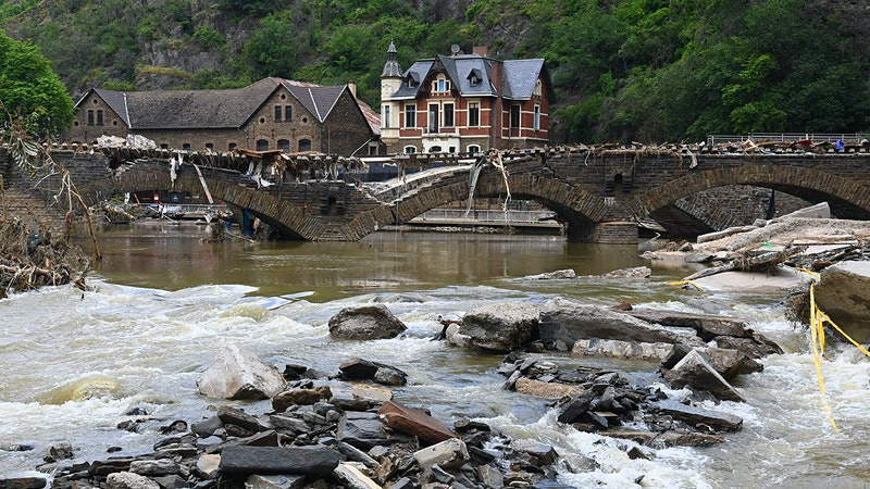 Flooding Devastates Germany, Belgium and the Netherlands, Damaging Wineries in Ahr