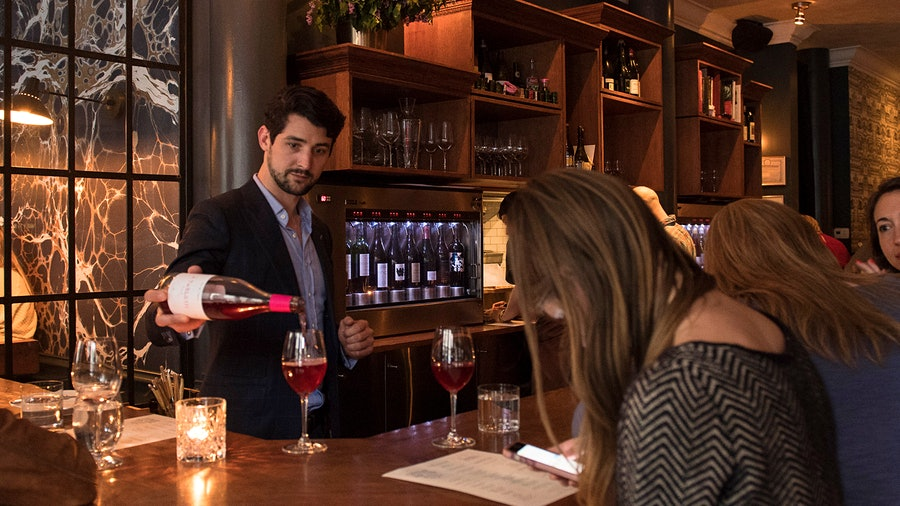 Caleb Ganzer was a sommelier at Eleven Madison Park and Daniel before taking over the wine program at La Compagnie des Vins Surnaturels.