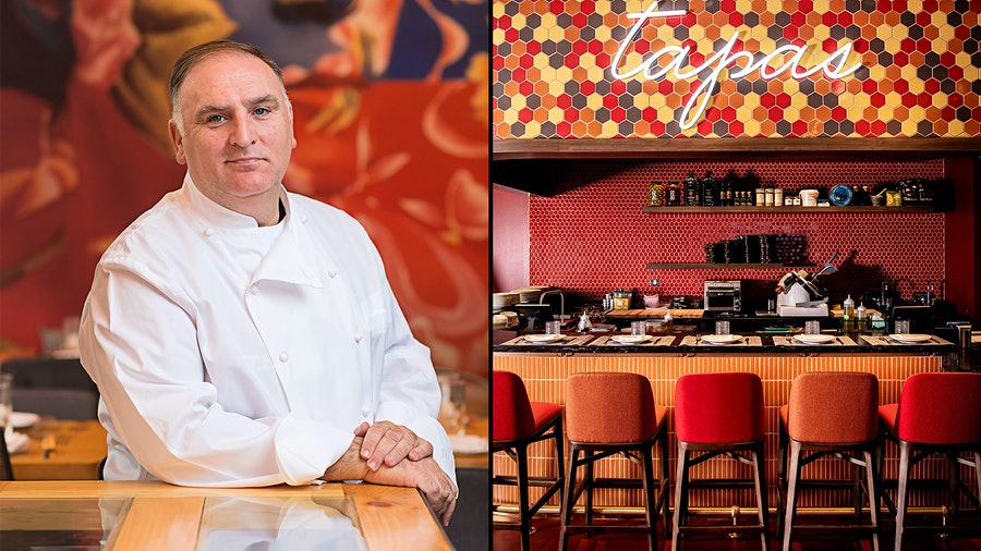 Chef José Andrés' fifth outpost of his tapas restaurant, Jaleo, represents the latest of several Chicago projects for ThinkFoodGroup.
