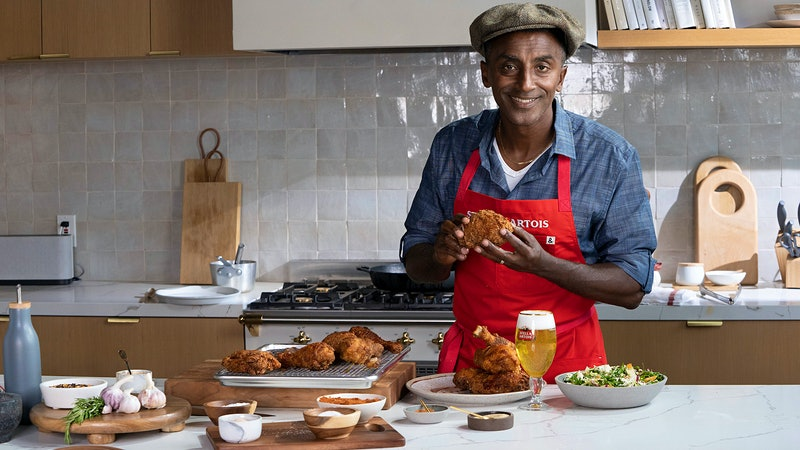Charity Auction of Culinary NFTs Kicks Off with Marcus Samuelsson's Fried Chicken Recipe