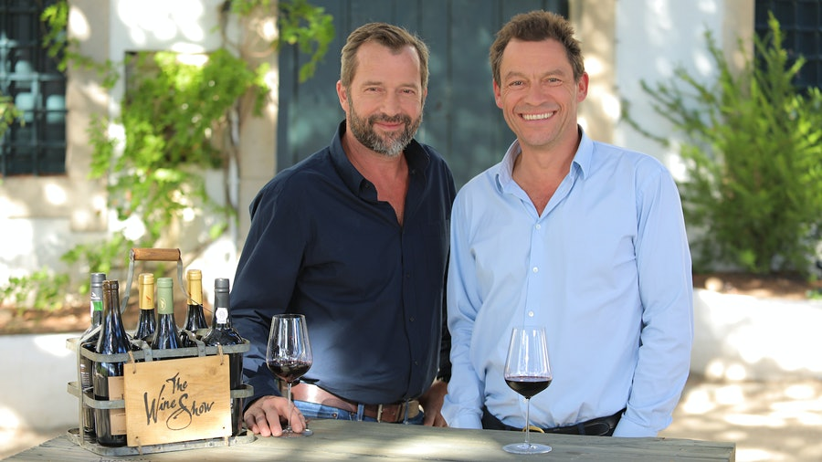 James Purefoy (left) and Dominic West take season 3 of The Wine Show to Portugal.