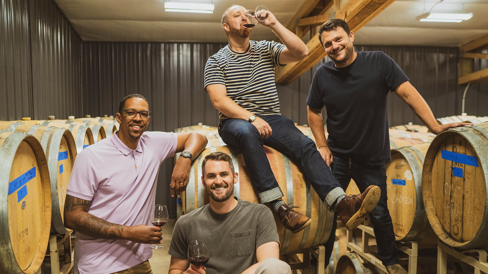 NBA Champ Kevin Love Joins Channing Frye's Wine Team