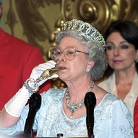 Queen Elizabeth II sips a glass of sparkling wineQueens, Kings and Crus: A Wine & Royalty Quiz