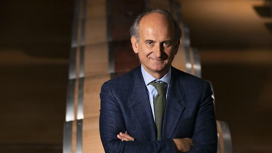 Lamberto Frescobaldo represents the 30th generation to run Italy's Marchesi de' Frescobaldi.