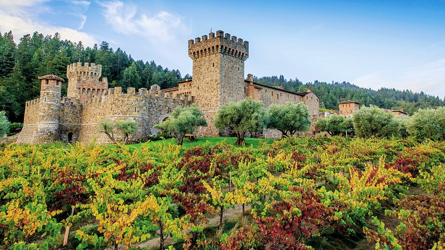 Winery Castello di Amorosa's Tuscan-style castle and Sangiovese wines are tributes to the Italian heritage of its founder, Dario Sattui.
