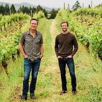 Drew Bledsoe (left) and Josh McDaniels finally have an Oregon vineyard of their own.Drew Bledsoe and Winemaker Josh McDaniels Buy 80-Acre Oregon Pinot Noir Estate