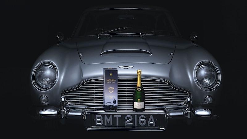 Brut … James Brut: Bollinger's New 007 Cuvée Honors Bond Film 'No Time to Die'