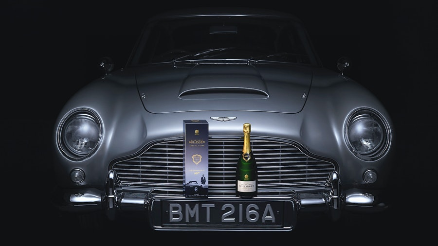 The only Champagne made for international men of mystery: Special Cuvée 007.