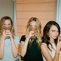 From left: Chloe, Poppy and Cara Delevingne celebrate their sisterly bond with Della Vite Prosecco.Della Vite's Coming-Out Party: Delevingne Sisters Celebrate New Prosecco
