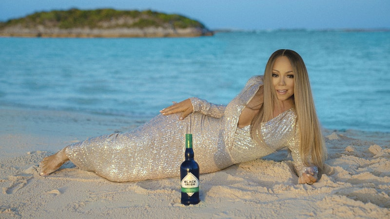 Updated: All Mariah Carey Fans Want for Christmas Is Her Black Irish Cream Liqueur