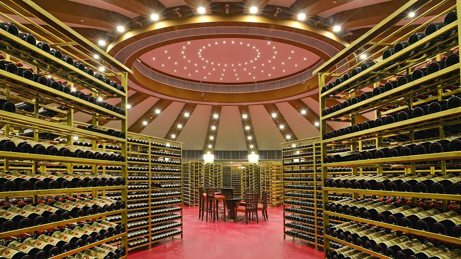 11 Restaurants with Huge Wine Lists