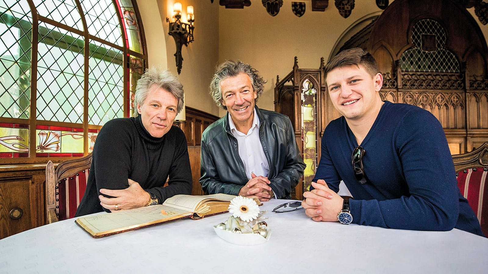 Jon Bon Jovi Dives into Wine
