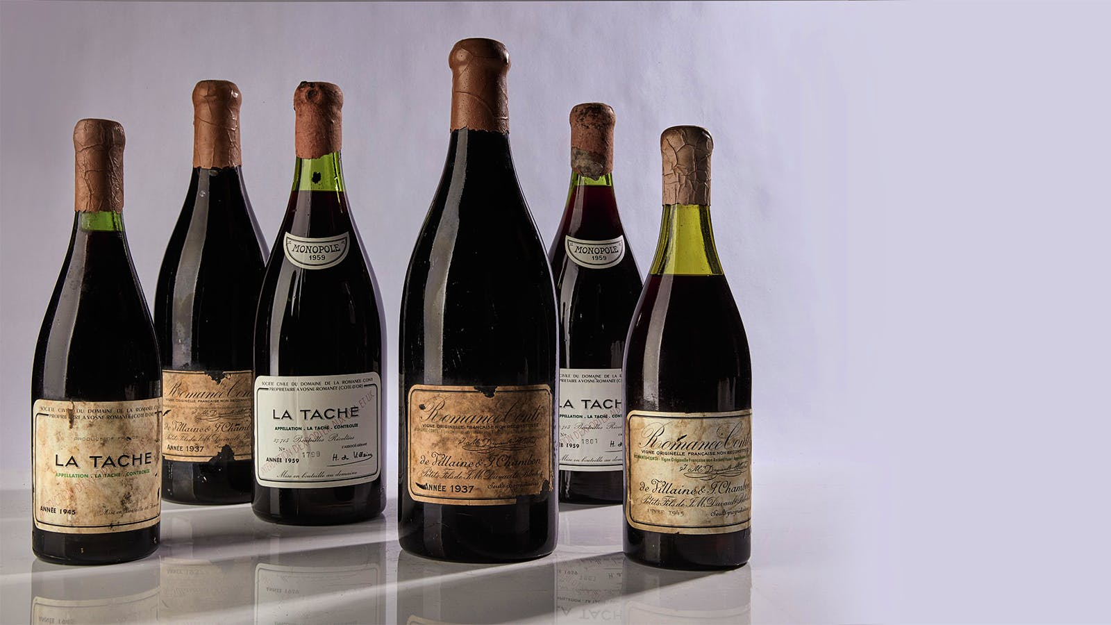 DRC 1945 Sets Auction Record