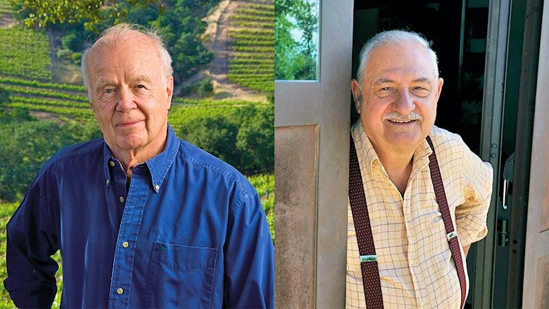 In Memoriam: John Shafer; Gianfranco Soldera