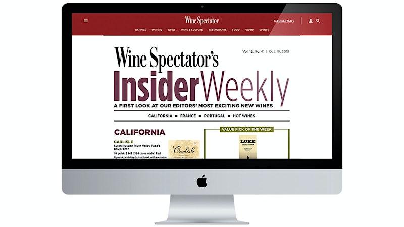 <em>Wine Spectator</em> Launches New Digital Weekly