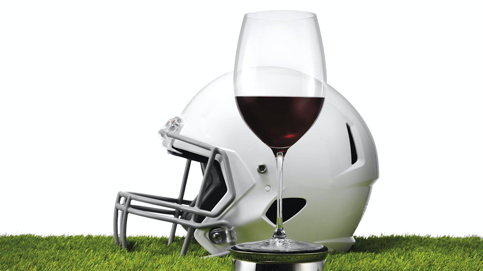 Wine Scores a Touchdown