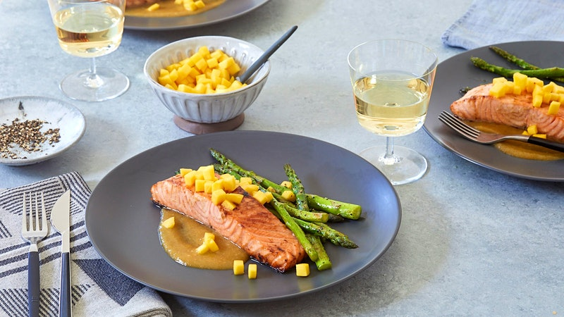 Salmon with Chenin Blanc
