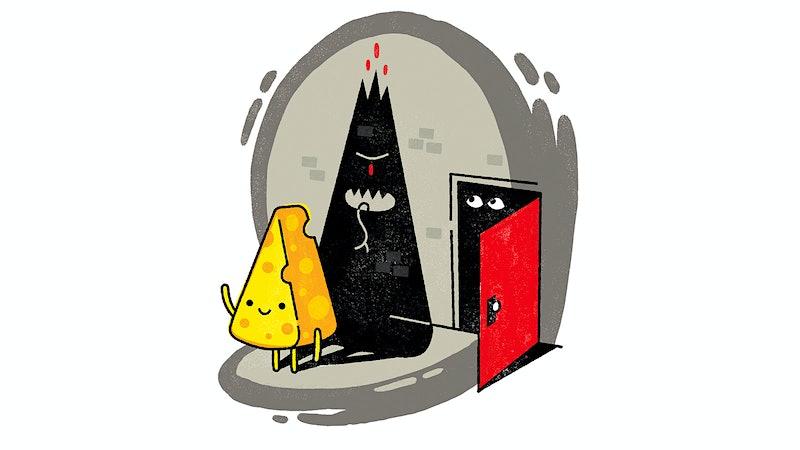 不要害怕,精致的奶酪