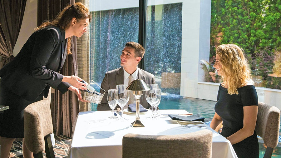 Julie Dalton is the sommelier at Mastro's Steakhouse at the Post Oak Hotel in Houston, a Grand Award winner.