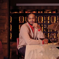 Carmelo Anthony has been exploring wine for 15 years, sharing his passion with fellow NBA players and now with a wider audience through his wine-themed YouTube series, <i>What's in Your Glass?</i>Carmelo Anthony: Wine's Power Forward