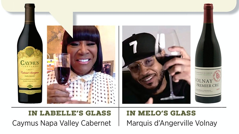 The Melo Wine Series: What's in Your Glass?
